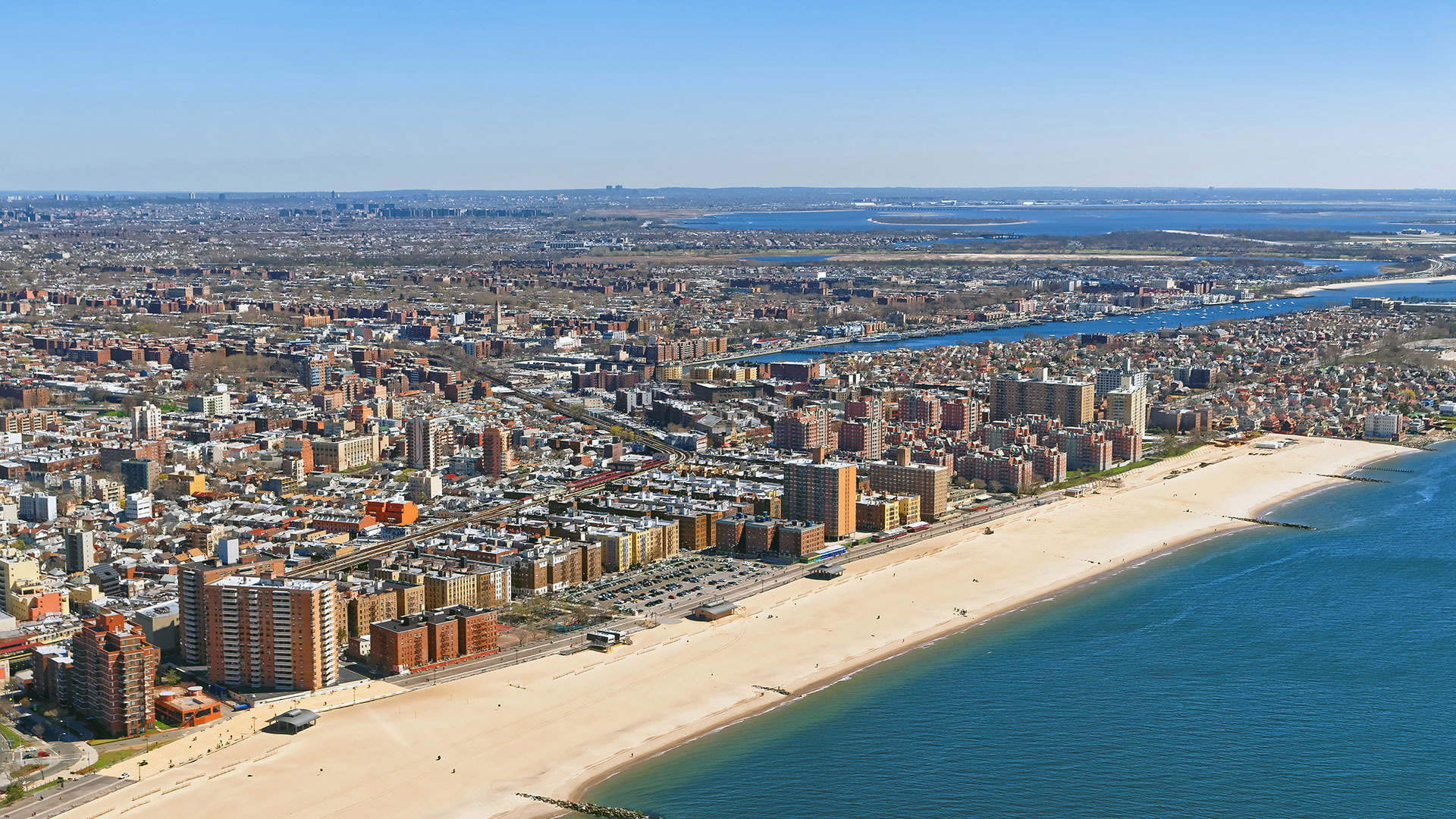 Aeria View of Long Island – Nassau County