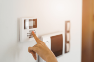 Setting Up Alarm In A New York City Home