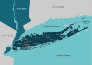 New York City And Long Island Map