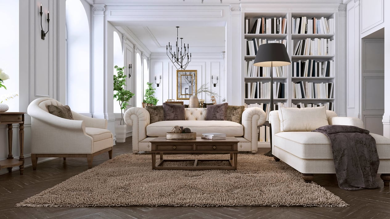 Modern Family Room At A New York City Home