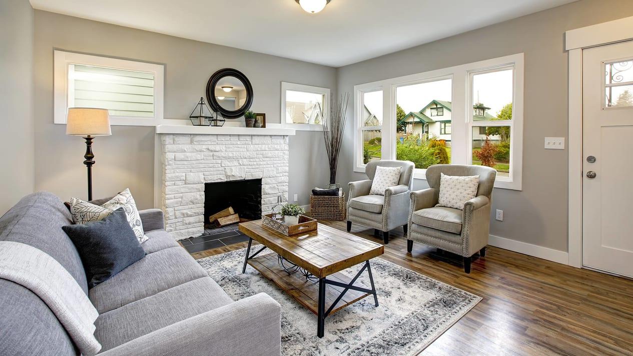 New York Cozy Living Room