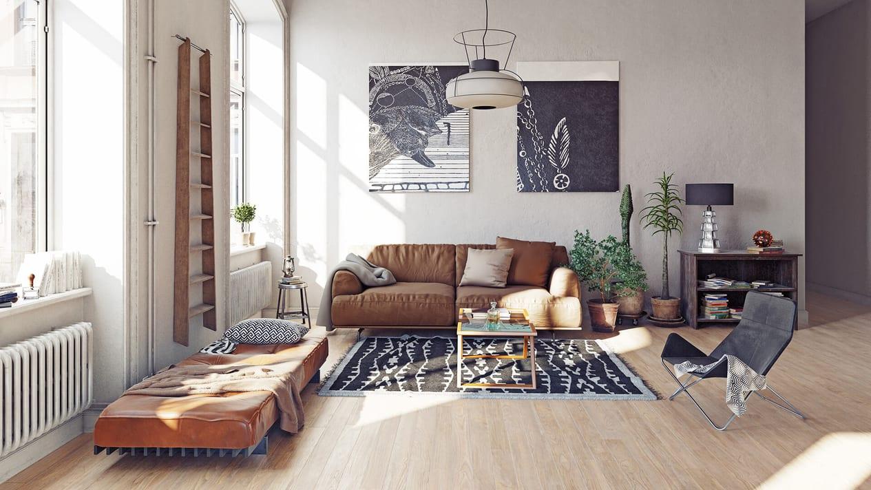 Modern Living Room Interior 2